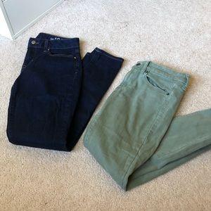 Skinny jeans lot size 27